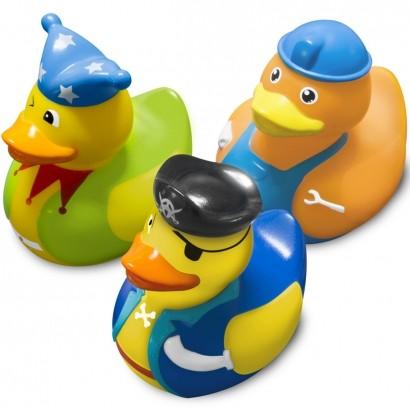 Brinquedo Para Banho Bebê Infantil Pato Patinhos 2 Acima dos 9 Meses Comtac Kids Care