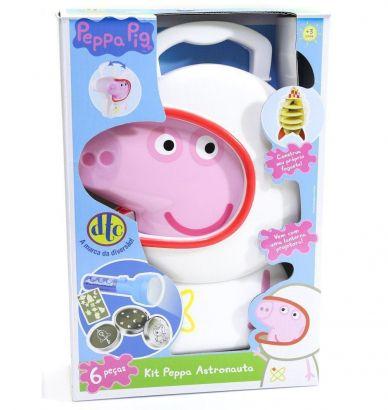 Maleta Infantil Peppa Pig Kit Peppa Astronauta Dtc 4610