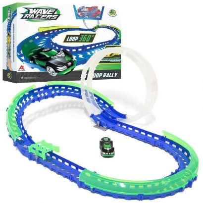 Wave Racers Skyloop Rally 1 Loop 360 + 1 Carro + Sensor Dtc