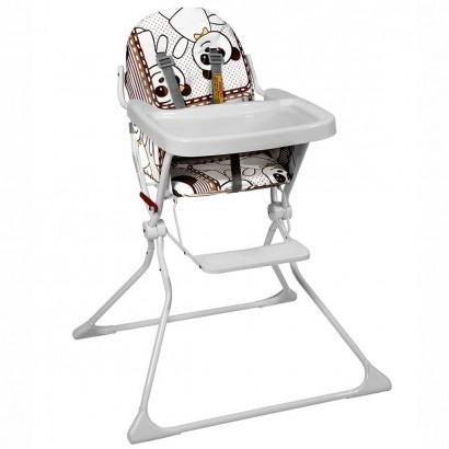 Cadeira Alta De Bebe Para Alimentação Panda Standard II Até 15 Kg - Galzerano