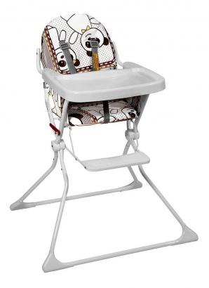 Cadeira Alta De Bebe Para Alimentação Refeição Panda Standard II Até 15 Kg Galzerano