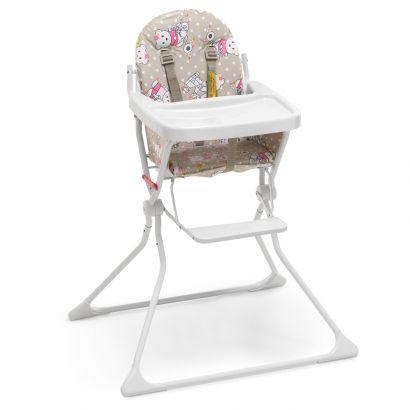 Cadeira Alta De Bebe Para Alimentação Ursinho Standard II Até 15 Kg - Galzerano