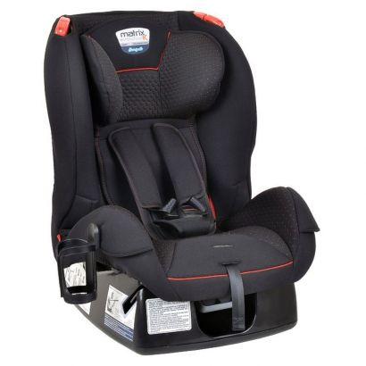 Cadeirinha de Bebê Para Auto Matrix Evolution k Dot Vermelho Burigotto Até 25 Kg