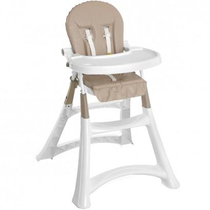 Cadeira de Alimentação Portatil Bebe Infantil Galzerano Refeição Sand Suporta Até 15kg