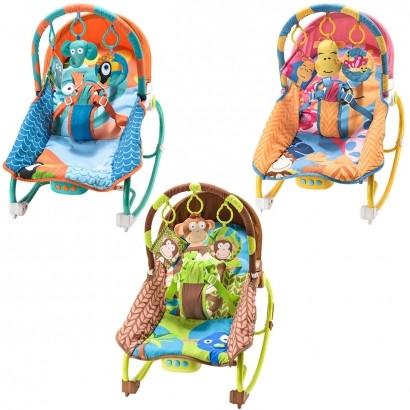 Cadeira de Balanço para Bebês com Música e Vibratória De 0 a 20kg - Multikids Baby