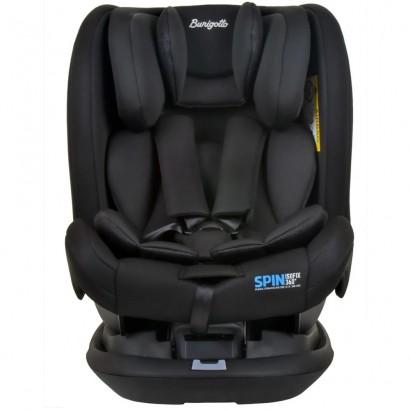 Cadeira de Bebê Para Auto Spin Isofix Preto De 0 a 36Kg Burigotto