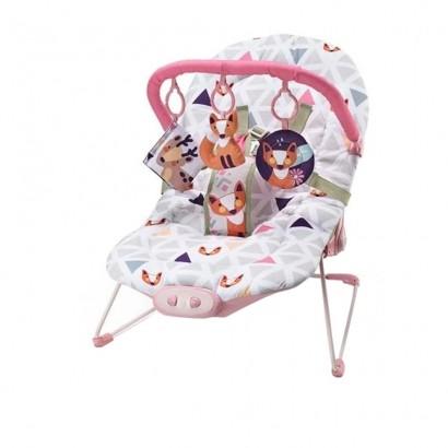 Cadeira de Descanso Musical Reclinavel até 15 Kg Weego Menina - Multikids Baby