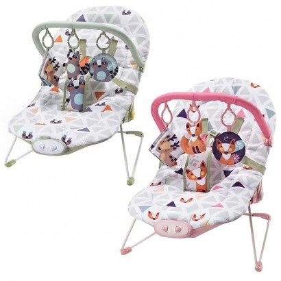 Cadeira de Descanso Musical Reclinavel até 15 Kg Weego - Multikids Baby