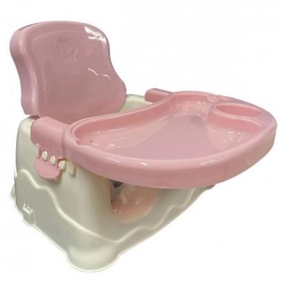 Cadeira de Refeição Booster Rosa - Importway