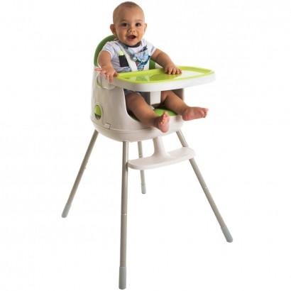 Cadeira de Refeição Infantil Jelly 3em1 Desmontável Portátil Alimentação Criança Bebê De 6 Meses a 25kg Green - Safety 1st