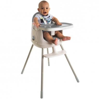 Cadeira de Refeição Infantil Jelly 3em1 Desmontável Portátil Alimentação Criança Bebê De 6 Meses a 25kg Grey - Safety 1st