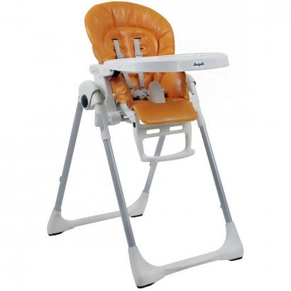 Cadeira de Refeição Infantil Reclinável Ajuste Altura De 0 a 36 Meses Prima Pappa Zero 3 Orange - Burigotto