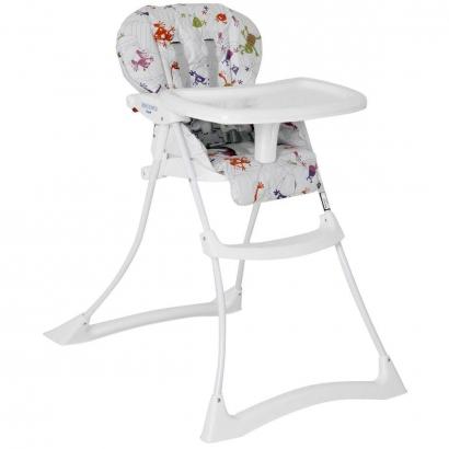 Cadeira de Refeição Infantil Reclinável Papa & Soneca De 6 a 36 Meses Monstrinhos - Burigotto