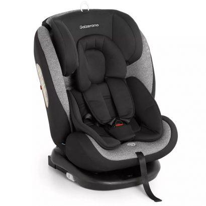 Cadeira Para Auto Gaia Galzerano Preto Cinza 8003 PTC