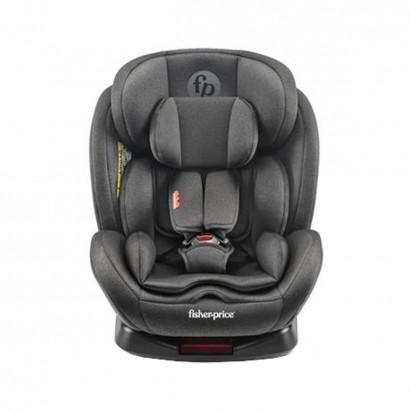 Cadeira Infantil para Auto Isofix Reclinável 360° Grupos 0,1,2,3 A Partir de 0 a 36kg Snug Fix Preta - Fisher Price