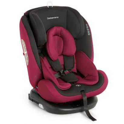 Cadeira Para Auto Preto e Vinho Gaia Galzerano 8003 PTV
