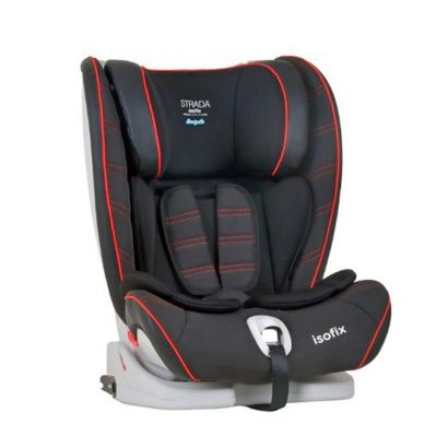 Cadeira Para Auto Strada com Isofix Black Red Line