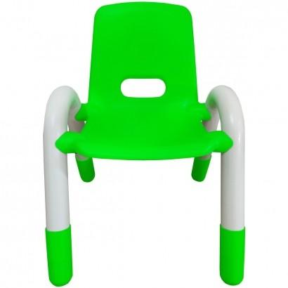 Cadeira Plastica Infantil Recreativa Verde 56x41x38 cm - Brinqway