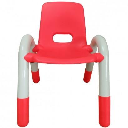 Cadeira Plastica Infantil Recreativa Vermelha 56x41x38 - Brinqway
