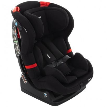 Cadeirinha Auto Infantil  Reclinável Maya Black Storm De 0 a 25kg - Infanti