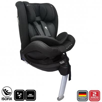 Cadeirinha Bebê Conforto Para Bebe e Criança 0 até 36 Kg Only One Gravel Black Abc Design