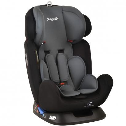 Cadeirinha de Bebê Auto 0 a 36 Kg Reclinavel Ajustável Grupo 0+ I, II, III, Bebê Conforto GT Burigotto Black