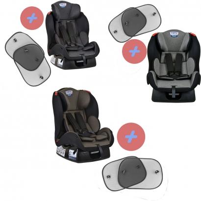 Cadeirinha de Bebê Matrix Evolution K 0 Até 25Kg Burigotto + Protetor Solar Para Auto Com Instalação Por Ventosa Kababy