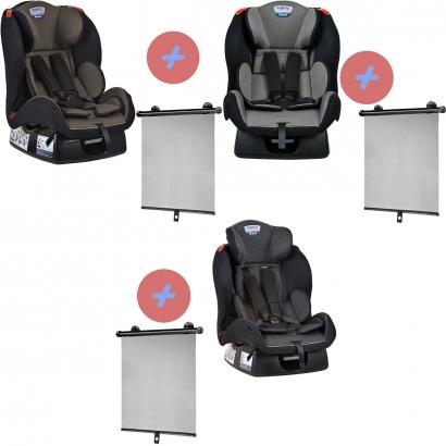 Cadeirinha de Bebê Matrix Evolution K 0 Até 25Kg Burigotto + Protetor Solar Para Auto Multikids