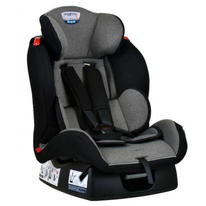 Cadeirinha de Bebê Para Auto Matrix Evolution K Mesclado Cinza Burigotto Até 25 Kg