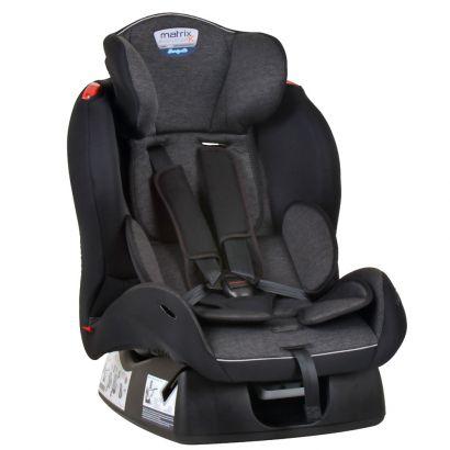 Cadeirinha de Bebê Para Auto Matrix Evolution K Mesclado Preto Burigotto Até 25 Kg
