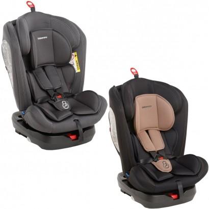 Cadeirinha Infantil para Auto Isofix Reclinável 360° Grupos 0,1,2,3 A Partir de 0 a 36kg - Galzerano