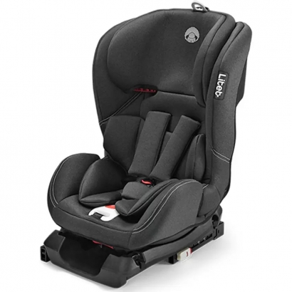 Cadeirinha Isofix de Bebê Auto Criança Infantil Passeio Carro 0 Até 36 Kg 4 Inclinações 11 Alturas Grupo 0+,1,2,3 Wee Litet Preta