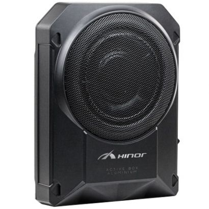 "Caixa Active Box Aluminium Slim 10"" 300W RMS Hinor"