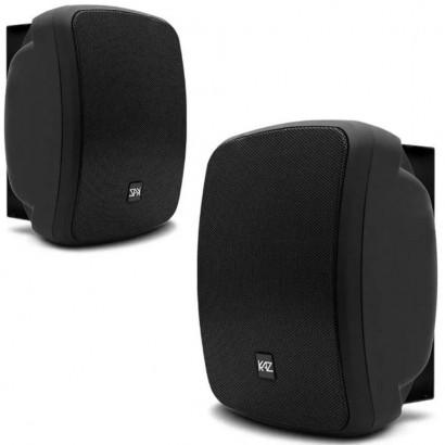 Caixa Acústica K6 Bluetooth Resistente a Água Preta 400W Rms