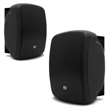 Caixa Acústica kaz K5 Bluetooth 5 Pol 300w Rms Preta Resistente á Água