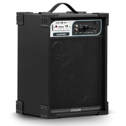 Caixa Amplificada Multiuso Frahm Ca Battery 50w Rms Usb Sd