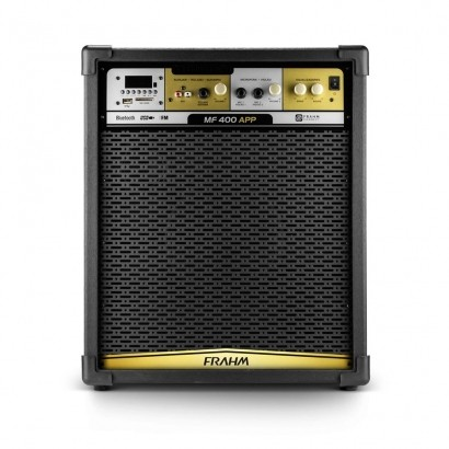 Caixa De Som Amplificada Frahm Mf400 Bt Bluetooth Usb Sd Fm