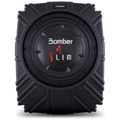 Caixa Selada Bomber Slim 10 Polegadas 175W Rms Amplificador Integrado