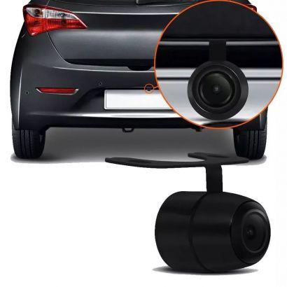 Câmera de Ré Automotiva Multifuncional Suporte Borboleta Conexão de Encaixe Multilaser - AU012