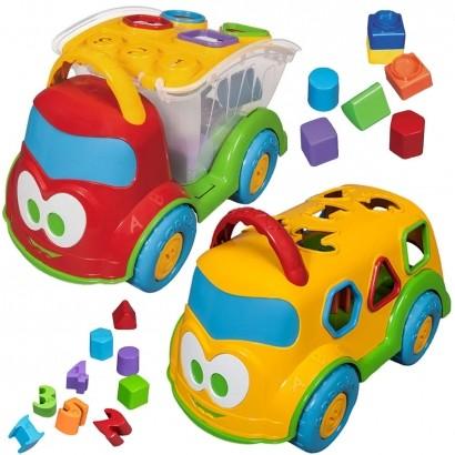 Caminhão de Brinquedo Bebê Educativo Interativo Baby Land Dino