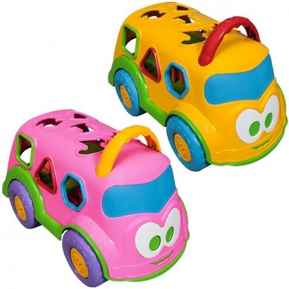 Caminhão de Brinquedo Bebê Educativo Interativo Baby Land Dino Escolar
