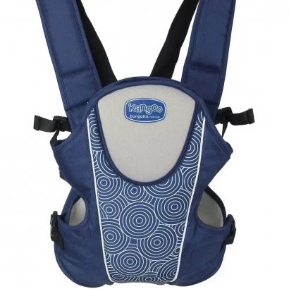 Canguru de Bebê Kangoo Naby Blue Até 11Kg 3 Modos de Uso - Burigotto