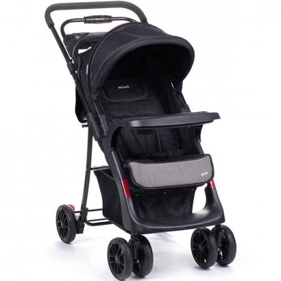 Carrinho Bebê Passeio/Berço com Cabo Reversível até 15Kg Shift Onyx - Infanti