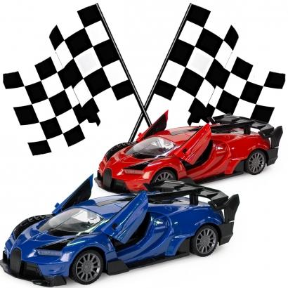 Carrinho Controle Remoto Superesportivo Para Crianças Poli-Motors 8 Comandos Polibrinq