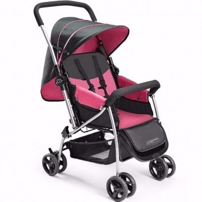 Carrinho De Bebê Berço Flip Rosa Multikids Baby - Bb504