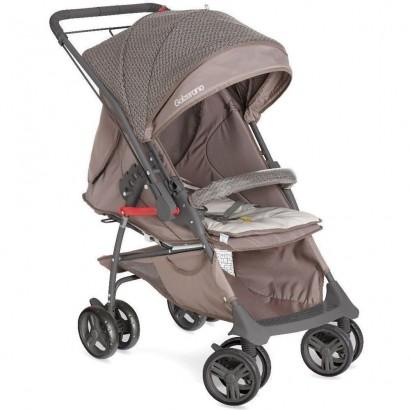 Carrinho De Bebê Berço Galzerano 2 Em 1 Maranello Cappuccino 1381GCAP
