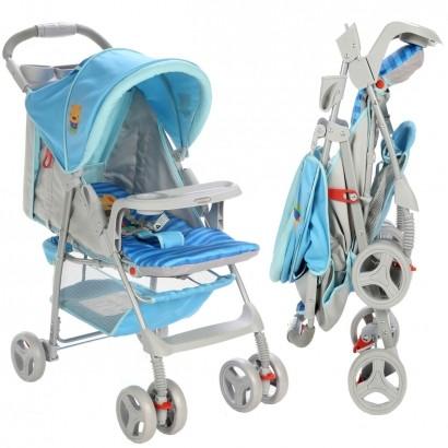 Carrinho de Bebê Berço Envelope Fit Voyage Azul