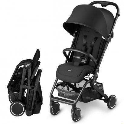 Carrinho de Bebê Passeio Reclinável De 0 meses até 15kg Ping Black Abc Design