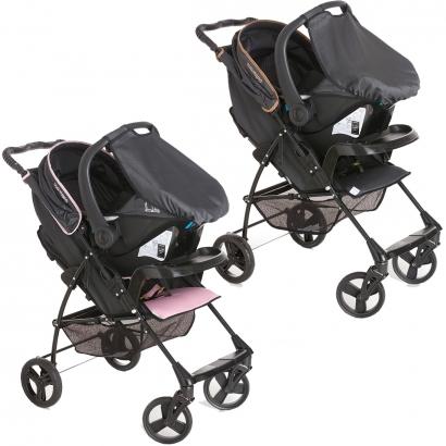 Carrinho de Bebe Romano Travel System Para Passeio Até 15Kg + Bebê Conforto Cocoon Slim Galzerano