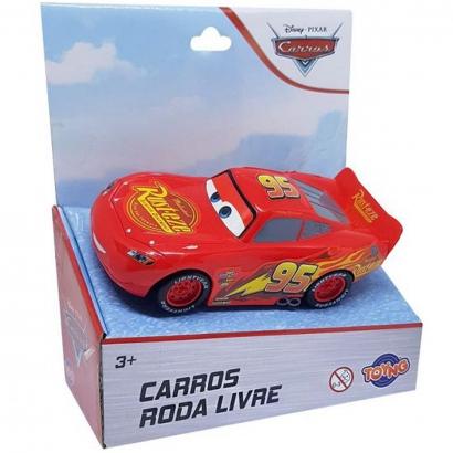 Carrinho de Brinquedo Filme Carros Pixar Disney Roda Livre A partir dos 3 Anos Toyng